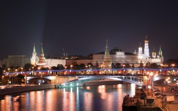 Moscow-Russia-City-Night